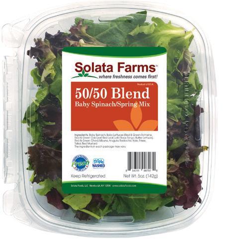Solata 11 oz 50/50 Blend