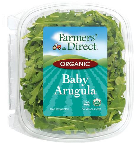 Organic 11 oz Arugula Farmers Direct
