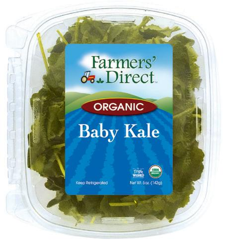 Organic 5 oz Baby Kale Farmers Direct
