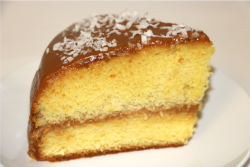 Cake Dulce de Leche