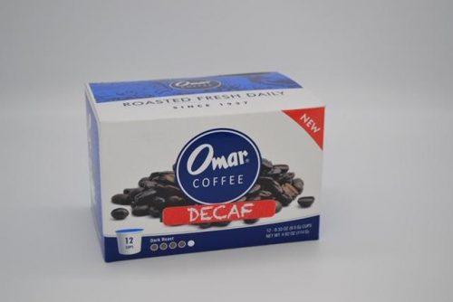 Omar Coffee, Decaf