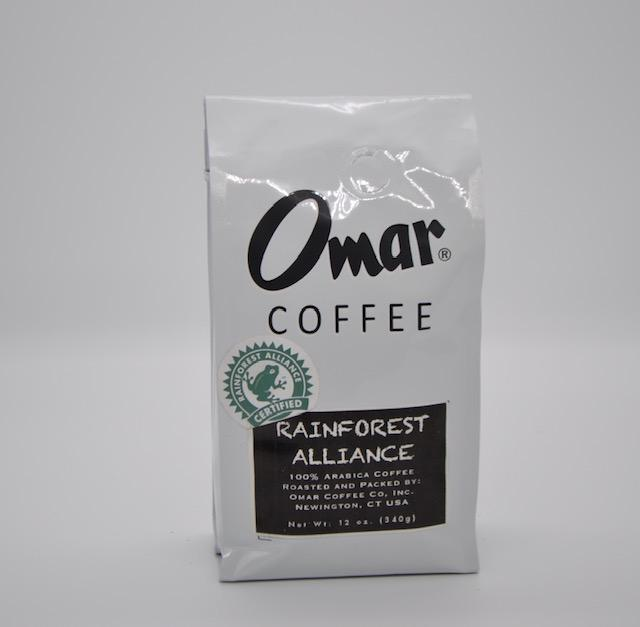 Omar Coffee, Rainforest Alliance 12oz