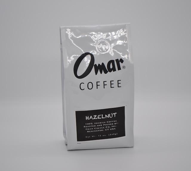 Omar Coffee, Hazelnut 12oz