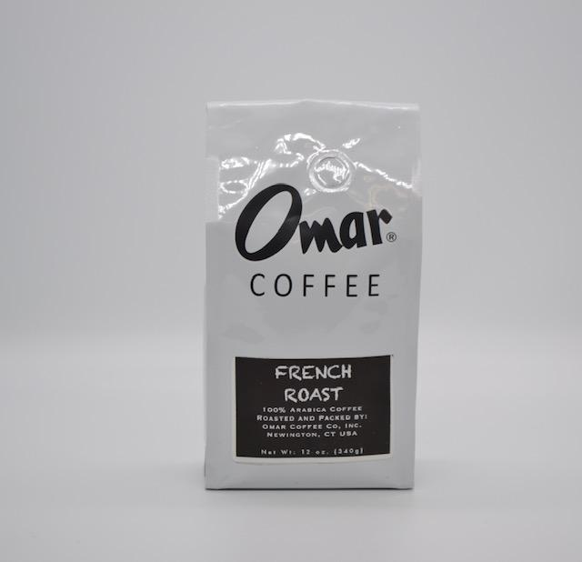 Omar Coffee, French Roast 12oz