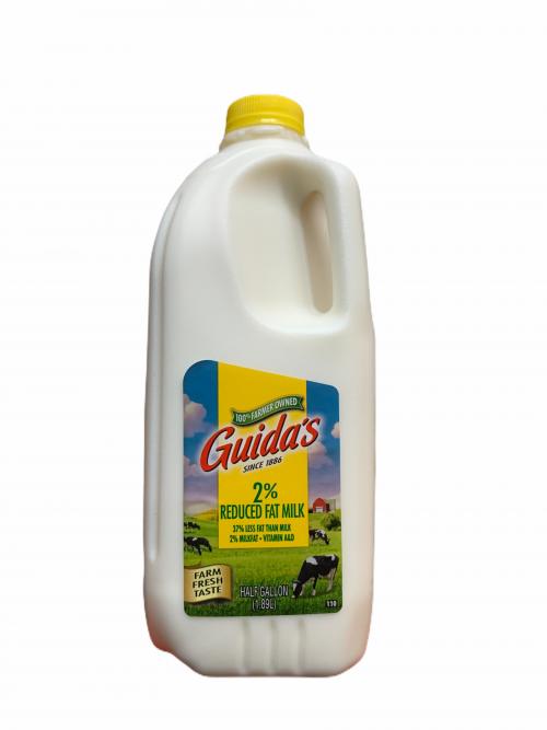 Guida's 2% Half Gallon