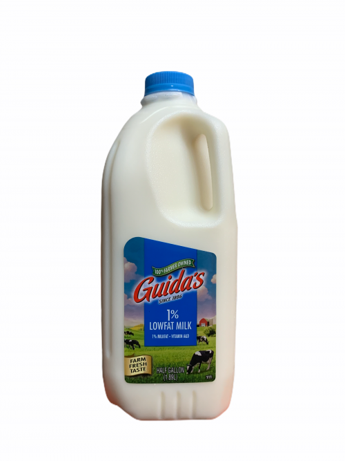 Guida's 1% Half Gallon