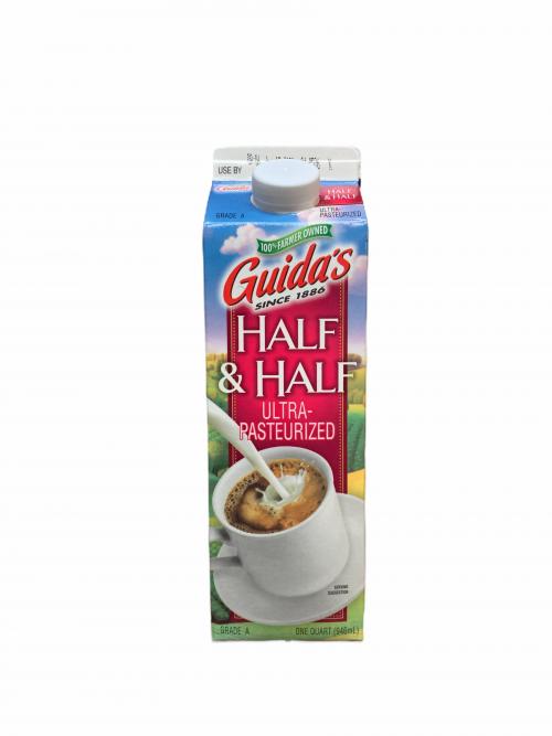 Guida's UHT Half % Half Quart
