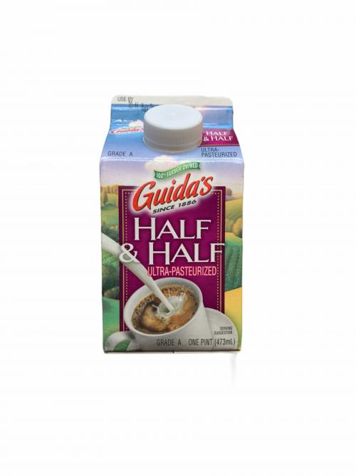 Guida's UHT Half & Half Pint