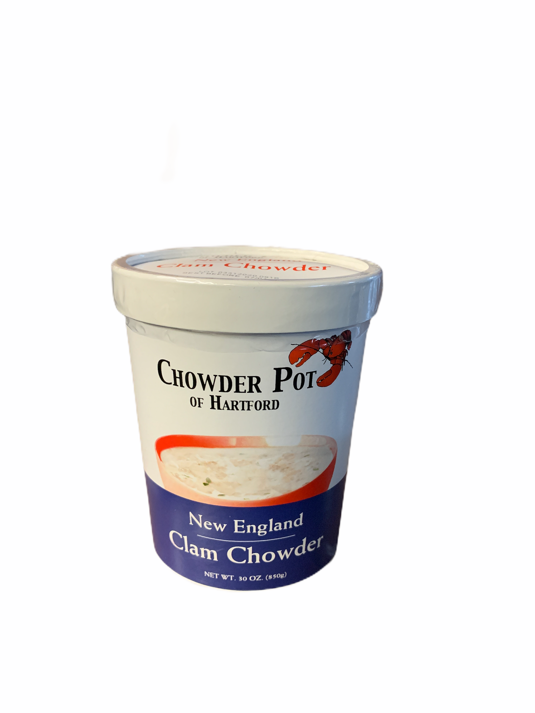 Chowder Pot Soup: Clam Chowder