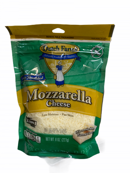 Shredded Cheese Mozzarella