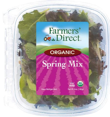 Organic 11 oz Spring Mix Farmers Direct