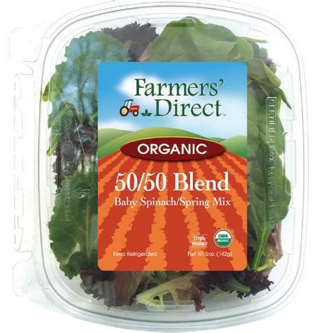 Organic 11 oz 50/50 Blend Farmers Direct