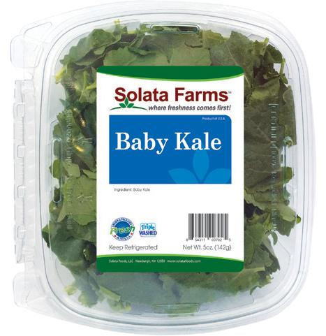 Solata 11 oz Baby Kale